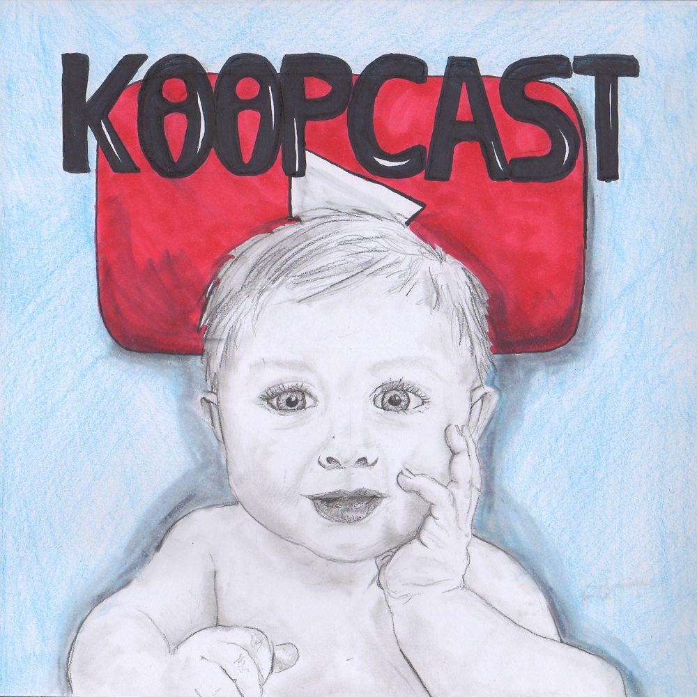 Baby vor YouTube-Logo